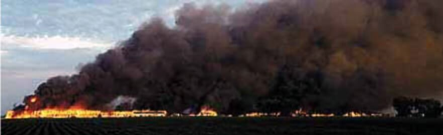 Video of Open Burning at Cornhusker Army Ammunition Plant