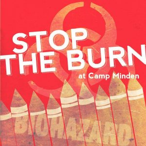 CSWAB Organizes National Opposition to Munitions Burn