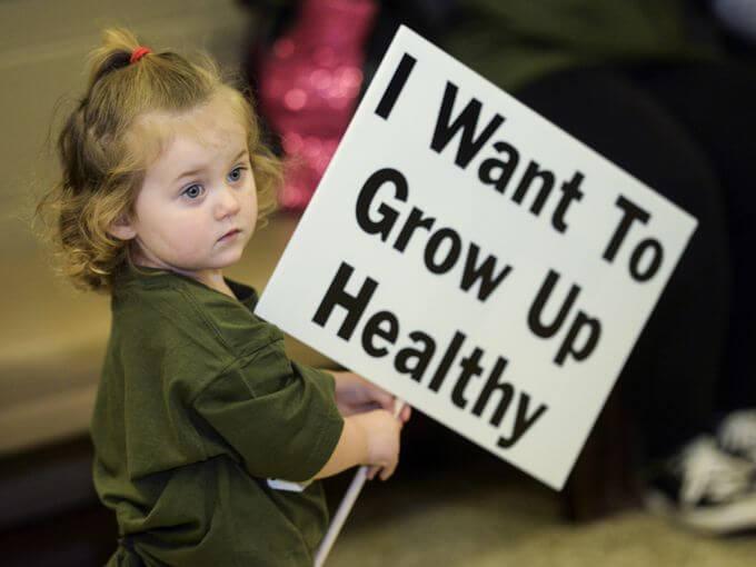 Camp Minden Children Grow up healthy