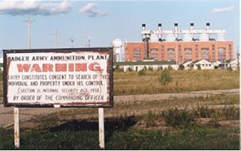 Badger sign power plant