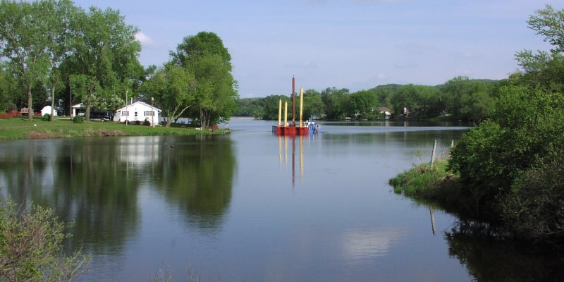 WDNR Says Dredging Will Restore Health of Gruber's Grove Bay